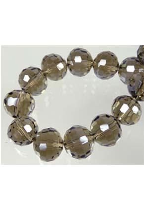 www.snowfall-beads.de - Glas kristall facette 96 seitig Rund 10mm (± 30 St.)