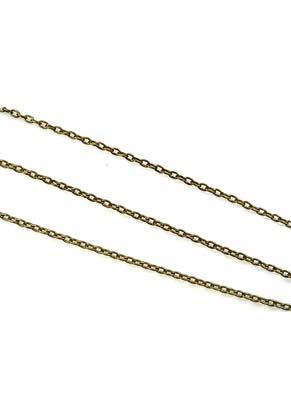 www.snowfall-beads.com - Metal chain ± 4,4x2,9mm (roll 10m)