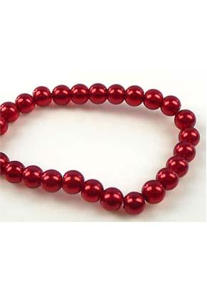 www.snowfall-beads.fr - Perles de verre, limpide 12mm (± 70 pcs.)