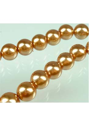 www.snowfall-beads.com - Glass pearls transparant 14mm (± 60 pcs.)