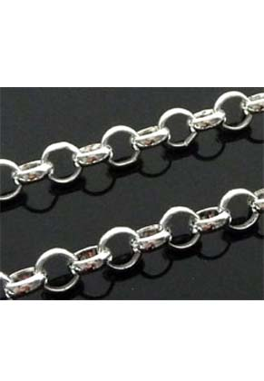 www.snowfall-beads.de - Metall Jasseronketten ± 4mm (± 1 meter pro Kette)