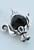 www.snowfall-beads.com - Metal beads teapot with cap ± 29x15mm