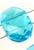 www.snowfall-beads.be - Glaskralen kristal facet geslepen plat ovaal met 2 gaatjes ± 15x11x5mm