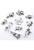 www.snowfall-beads.nl - Mix metalen kralen en hangers/bedels dieren ± 11-23mm (4 zakjes van 10 verschillende, totaal ± 40 st.)