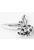 www.snowfall-beads.nl - Metalen hangers/bedels konijn bewerkt± 34x30x8mm