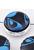 www.snowfall-beads.be - Kunststof kralen plat rond versierd ± 22x10mm