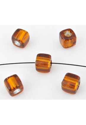 www.snowfall-perles.be - Perles de matière synthétique, cube ± 7mm (± 340 pcs.)