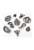 www.snowfall-beads.nl - Mix metalen hangers/bedels geloof ± 15-26mm (3 zakjes van 10 verschillende totaal ± 30 st.)
