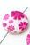 www.snowfall-beads.nl - Parelmoer kralen plat rond versierd met bloemen ± 25mm (gat ± 1mm)