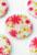 www.snowfall-beads.be - Parelmoer kralen plat rond versierd met bloemen ± 25mm (gat ± 1mm)