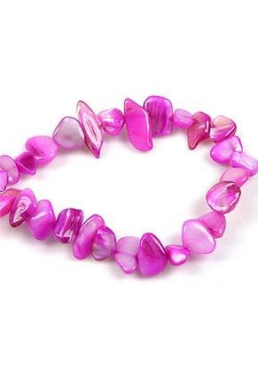 www.snowfall-beads.be - Parelmoer kralen onregelmatig ± 6-20mm (± 270 st.)