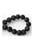 www.snowfall-beads.com - Natural stone perfume beads lava rock round ± 8mm (hole ± 1mm) (± 100 pcs.)