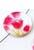 www.snowfall-beads.be - Parelmoer kralen plat rond versierd met tulpen ± 25mm (gat ± 1mm)