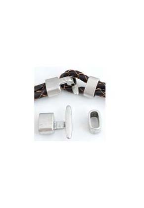 www.snowfall-beads.com - Metal clasp ± 20x22mm and ± 13x7mm (hole ± 11x5mm)