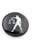 www.snowfall-beads.fr - Boutons-pression DoubleBeads EasyButton de métal avec brique de collage de matière synthétique, circulaire, avec signe du Zodiaque Balance ± 18mm (appropriés pour DoubleBeads EasyButton accessoires)