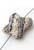 www.snowfall-beads.nl - Natuursteen parfumkralen lavasteen vlinder ± 23x21mm (gat ± 1,5mm)