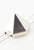 www.snowfall-beads.nl - Metalen verdelers piramide ± 12,5x11mm met 2 gaatjes (± 1mm)