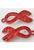 www.snowfall-beads.nl - Metalen hangers/bedels strikje