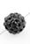 www.snowfall-beads.nl - Polymeerklei kralen met strass rond ± 10mm (gat ± 2mm)