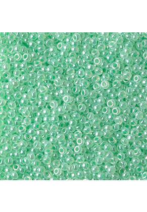 www.snowfall-beads.com - Miyuki glass seed beads 11/0- Ceylon Mint Green 520 (± 5500 pcs.)