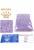 www.snowfall-beads.com - Miyuki glass seed beads 15/0- Dyed Lilac Silverlined Alabaster 574 (± 12500 pcs.)