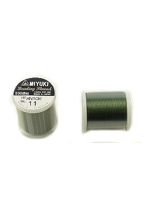 www.snowfall-beads.com - Miyuki Beading Thread/ nylon thread MNT-11, 330dtex 0,2mm (± 50m per roll)