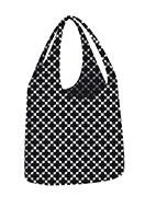 www.snowfall-fashion.fr - Ecozz cabas eco Little Big Bag Squares Black - D14194