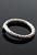 www.snowfall-beads.nl - Metalen ring rond bewerkt ± 20,5mm ± 2mm dik