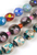 www.snowfall-beads.com - Mix glass beads Italian style ± 7,5-15mm (± 20 pcs.)