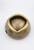 www.snowfall-beads.fr - Perles de matière synthétique metal look 'studs' ± 5x9mm (trou ± 1,5mm) (± 100 pcs.)