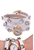 www.snowfall-beads.de - Kunstlederarmbanduhr (3cm) 3-fach mit Strassstuds ± 58cm, ± 9mm breit, verstellbar, Innenmaß ± 18-20cm
