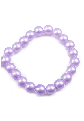 www.snowfall-beads.fr - Perles de verre, circulaires ± 10mm (trou ± 1mm) (± 160 pcs.)