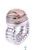 www.snowfall-beads.de - Metall Fingerring, elastisch, DoubleBeads EasyButton (Maß 15 = 55mm = Ø 17,5mm) (geeignet für DoubleBeads EasyButton Druckknöpfe)