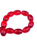 www.snowfall-beads.nl - Glaskralen ovaal ± 14x10mm (gat ± 1mm) (± 40 st.) - D17059