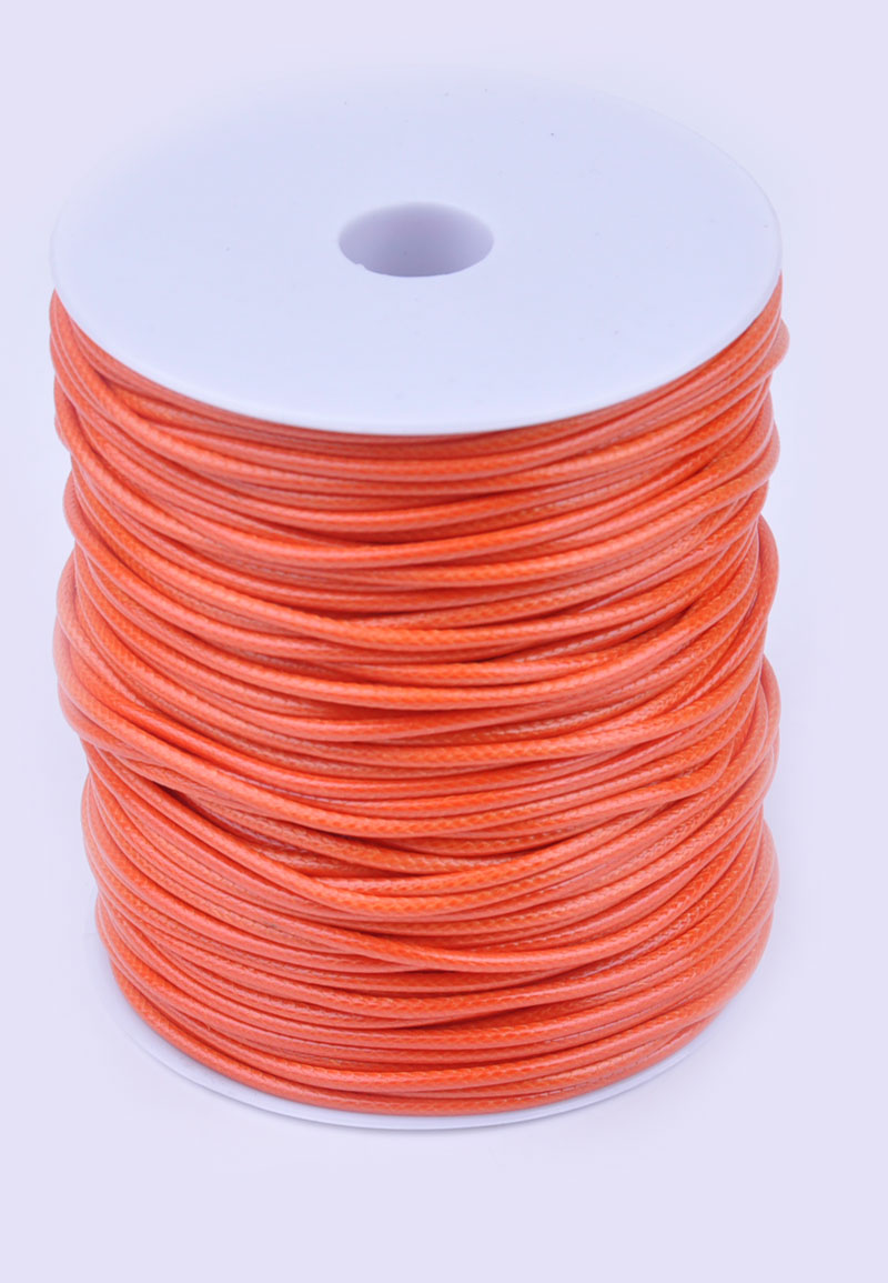wax cord with lustre 90 meter per roll 1 5mm thick. Black Bedroom Furniture Sets. Home Design Ideas