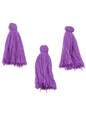 www.snowfall-beads.co.uk - Textile tassels 28x10mm