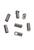www.snowfall-beads.be - Metalen (roestvrij staal) kapje met oogje ± 3x7mm (gaten ± 2mm en ± 1mm)