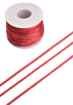 www.snowfall-beads.com - Imitation Silky cord ± 2mm (± 19 meter per roll)