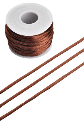www.snowfall-beads.com - Imitation Silky cord ± 2mm (± 19 meter per roll)