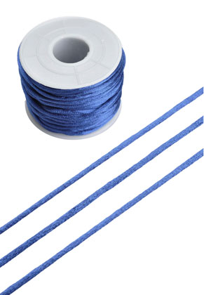 www.snowfall-beads.com - Satin cord ± 2mm (± 19 meter per roll)