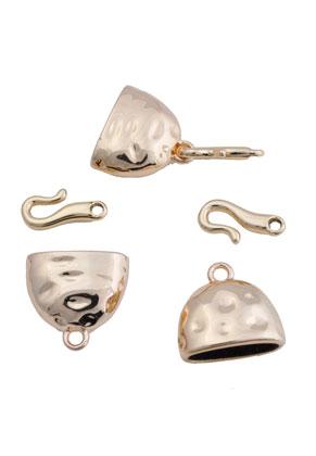 www.snowfall-beads.de - Metall Verschluss DQ 20x31mm