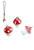 www.snowfall-beads.co.uk - Synthetic pendants mushroom 15x11mm