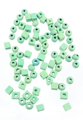 www.snowfall-beads.com - Mix wooden beads 5-6mm (60-70 pieces)