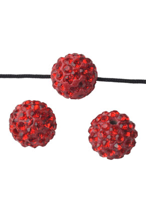 www.snowfall-beads.com - Strass beads round 8mm