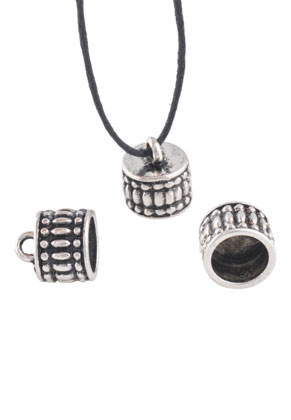 www.snowfall-beads.co.uk - Metal cap with eye 12x11mm