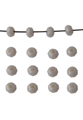 www.snowfall-beads.nl - Glaskralen rondel 3x2mm
