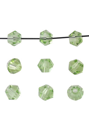 www.snowfall-beads.com - Glass beads bicone 4mm