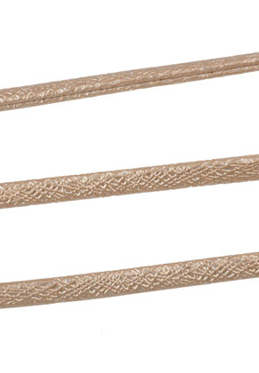 www.snowfall-beads.com - Imitation leather cord with metallic lustre 300cm, 5,5x2,5mm thick
