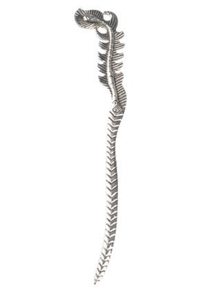 www.snowfall-beads.nl - Metalen boekenlegger veer 16x2,5cm