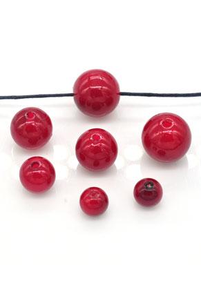 www.snowfall-beads.fr - Mélange de perles en matière synthétique circulaire 8-14mm (100 pcs.)